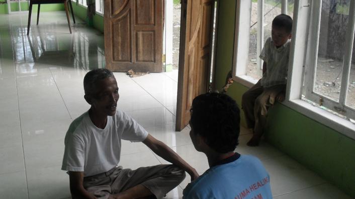 Recovery gempa Padang